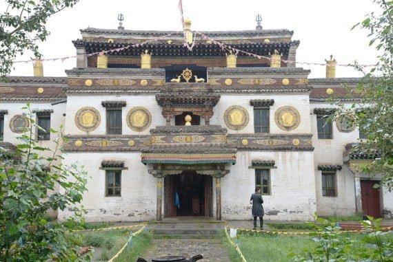 Un autre temple du site Erdene Zuu