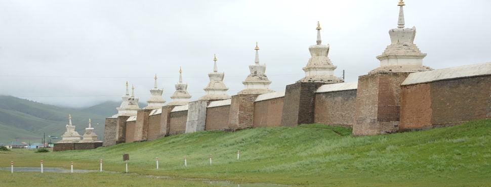 La muraille d'Erdene Zuu