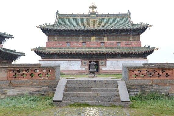 Le site d'Erdene Zuu