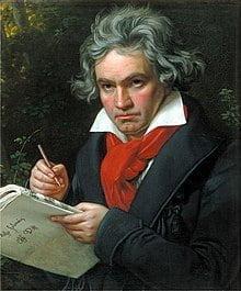 Portrait de Beethoven par Joseph Karl Stieler, 1820