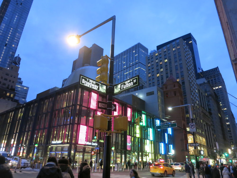 Au coin de Broadway