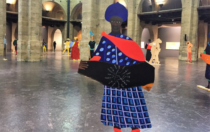 The Map-maker - Installation « Naming the Money » de Lubaina Himid