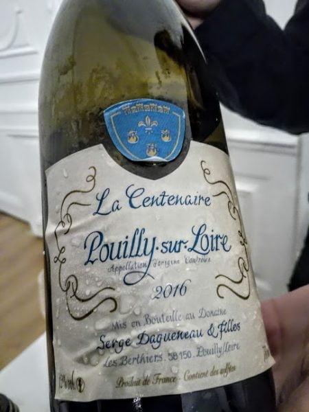 Ce Pouilly-sur-Loire La Centenaire 2016