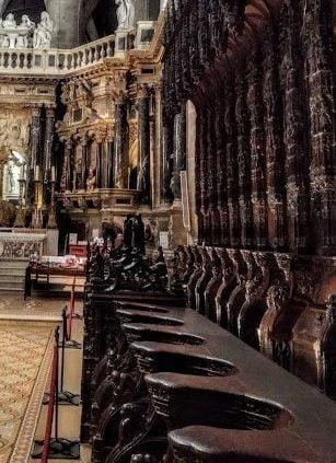 Le chœur de la cathédrale Sainte-Marie d'Auch