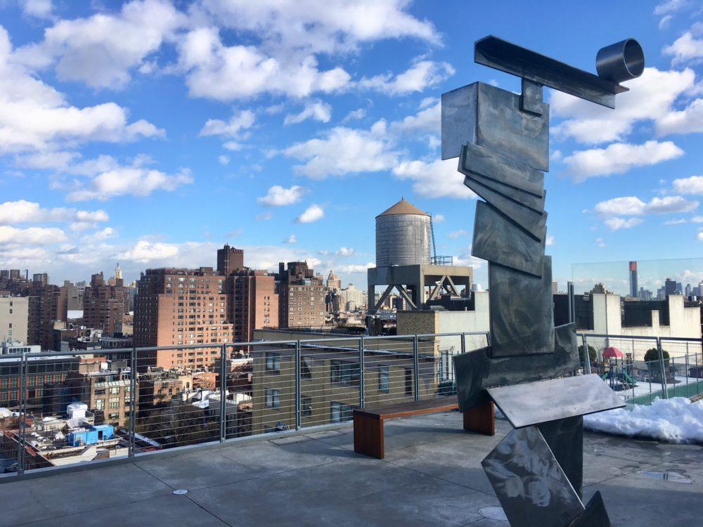 La Terrasse du Whitney, New-York