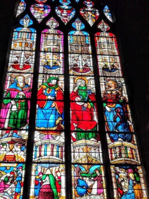 Les vitraux d'Arnaud de Moles