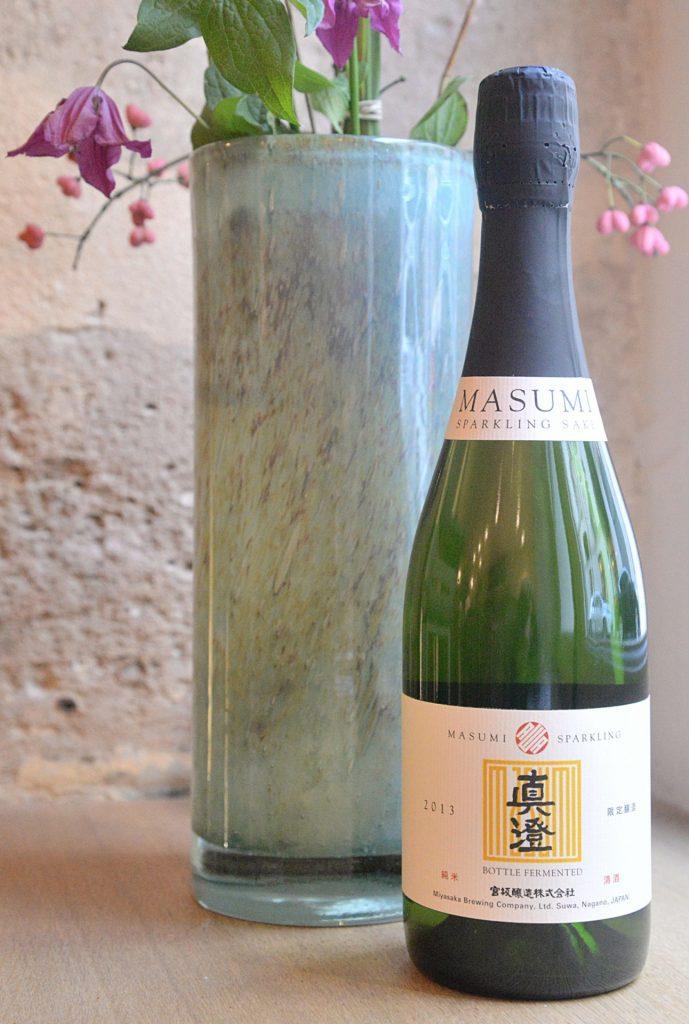 De fines bulles dans le Saké