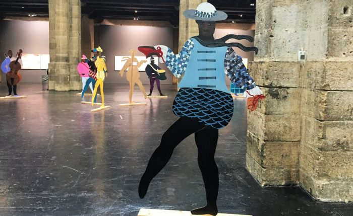 The Painter - Installation « Naming the Money » de Lubaina Himid