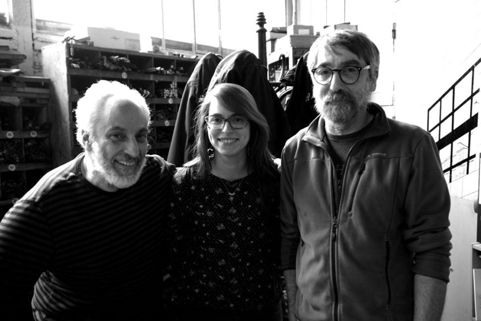 Michel Archimbaud, éditeur, Céline Métayer et Pascal Duriez