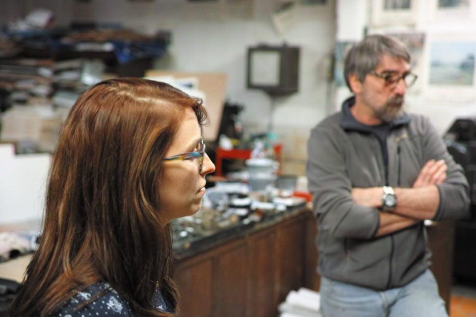 Céline Métayer, ancienne apprentie de l'atelier