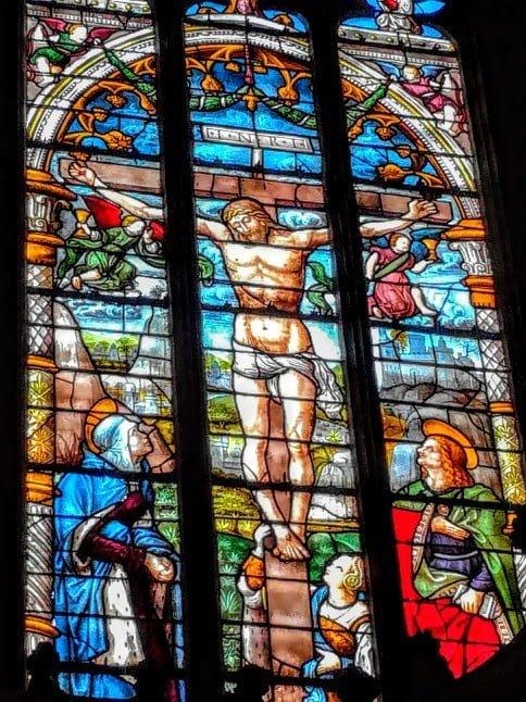 Verrière de la cathédrale Sainte-Marie d'Auch