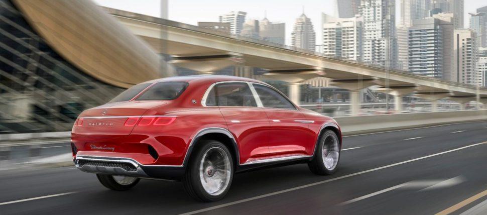 Pour la Maybach Utimate Luxury, Mercedes s'est inspirée de Tesla, Rolls Royce, Lincoln, tout en y introduisant l'ADN du GLS.