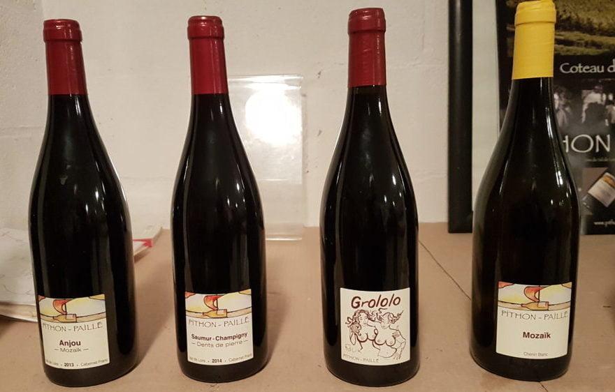 Les vins des diverses appellations de la Loire resteront sous le nom de Pithon-Paillé, qui les a fait connaître.