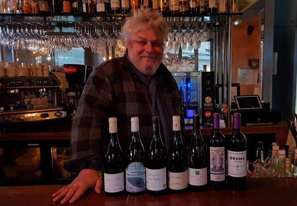 Une sélection (du jour) de vins de Vincent Solignac (Voir le détail dans la rubrique « Informations pratiques »)