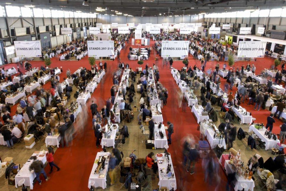 Millésime Bio, la Salon mondial professionnel de la viti-viniculture biologique se tient tous les ans à Montpellier