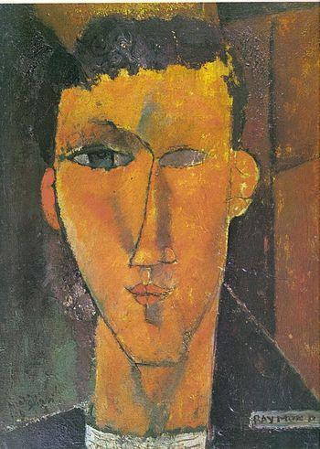 Raymond Radiguet par Modigliani
