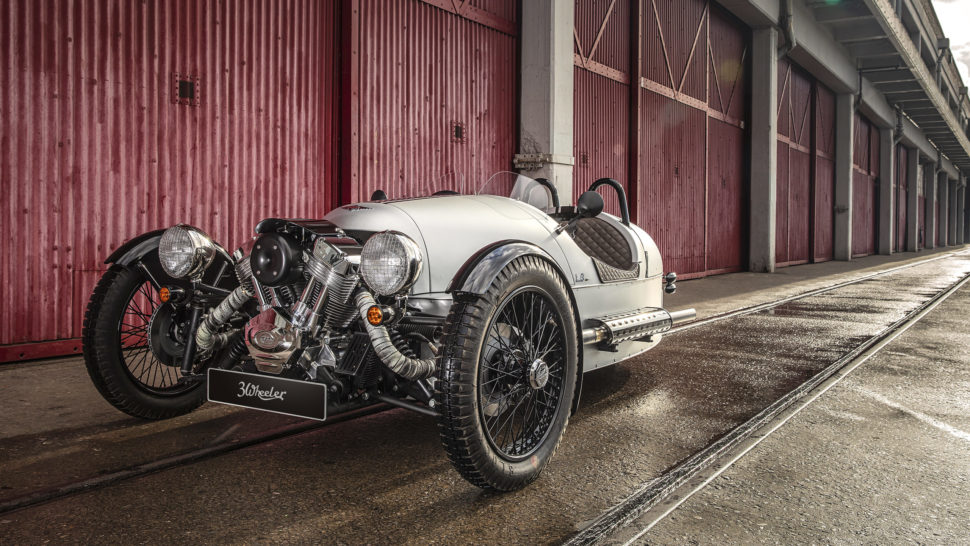 Morgan 3wheel, 110v3op 2