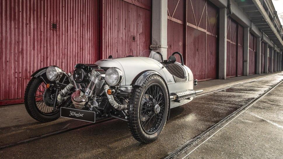 Morgan 3wheel, 110v3op 2