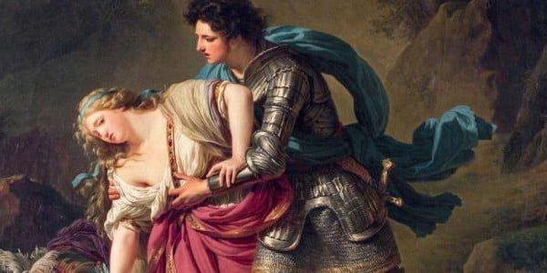 Tableau de François-André Vincent, Renaud et Armide.