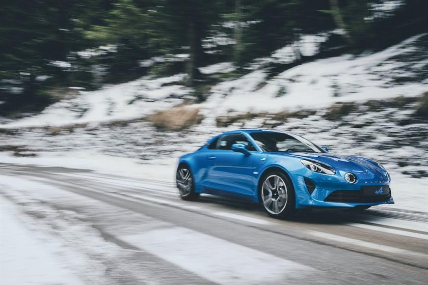 La nouvelle Alpine A110.