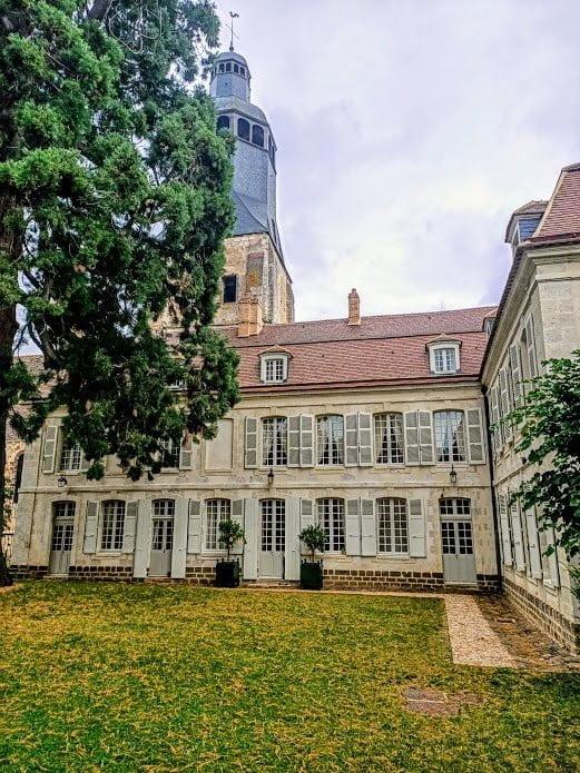 Bâtiment principal du collège