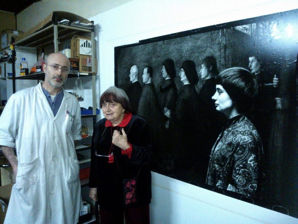 Diamantino Quintas et Agnès Varda