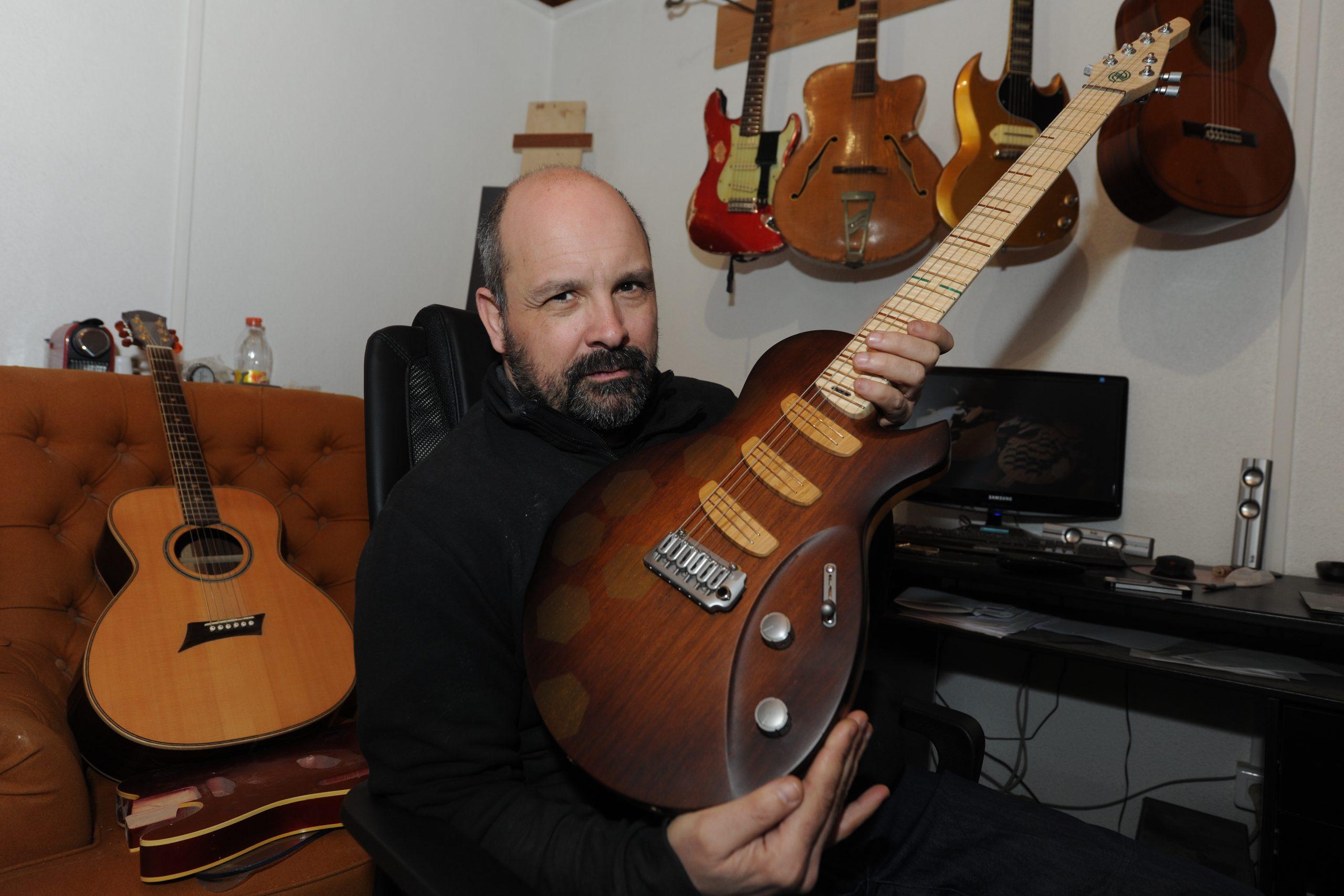 Jean-Yves Alquier, luthier et meilleur ouvrier de France 2015