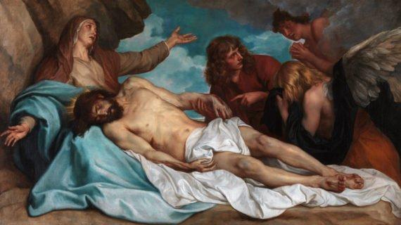 Anthony van Dyck. La déploration du Christ. Musée royal d'Anvers