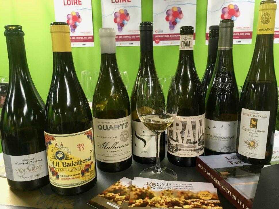 Des chenin de Loire et d'Afrique du sud au salon des vins de Loire