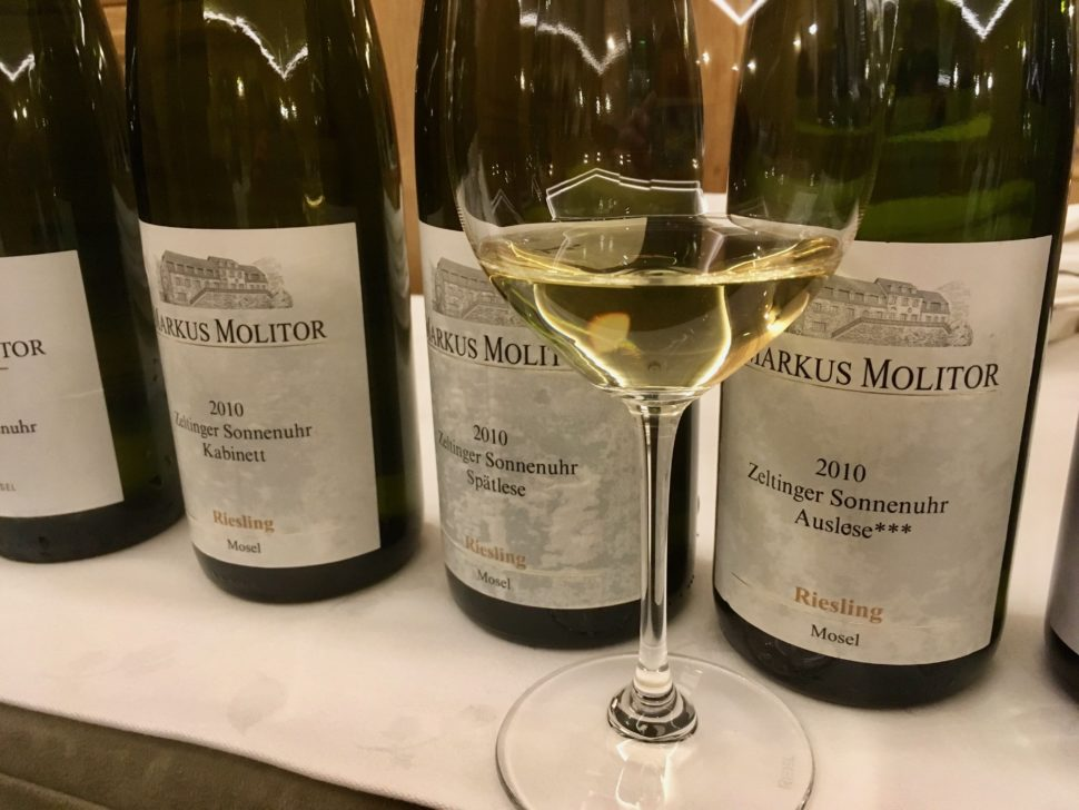 Markus Molitor riesling Moselle 2010.