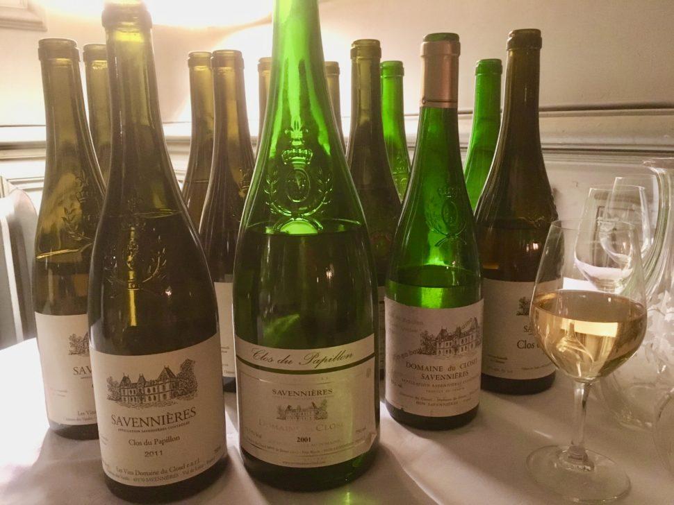 Les vins de Savennières gagnent au vieillissement