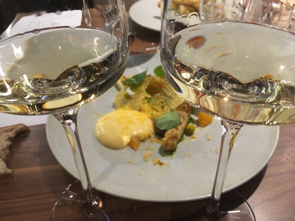 Les vins blancs donnent lieu à de nombreux accords gourmands