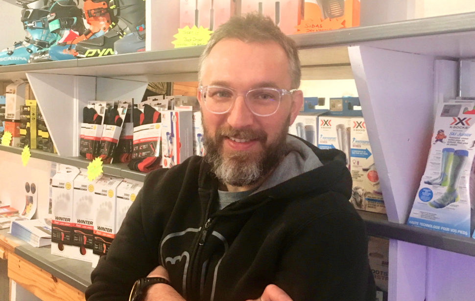 Ludovic Schang boot-fitter ski Bourg St Maurice