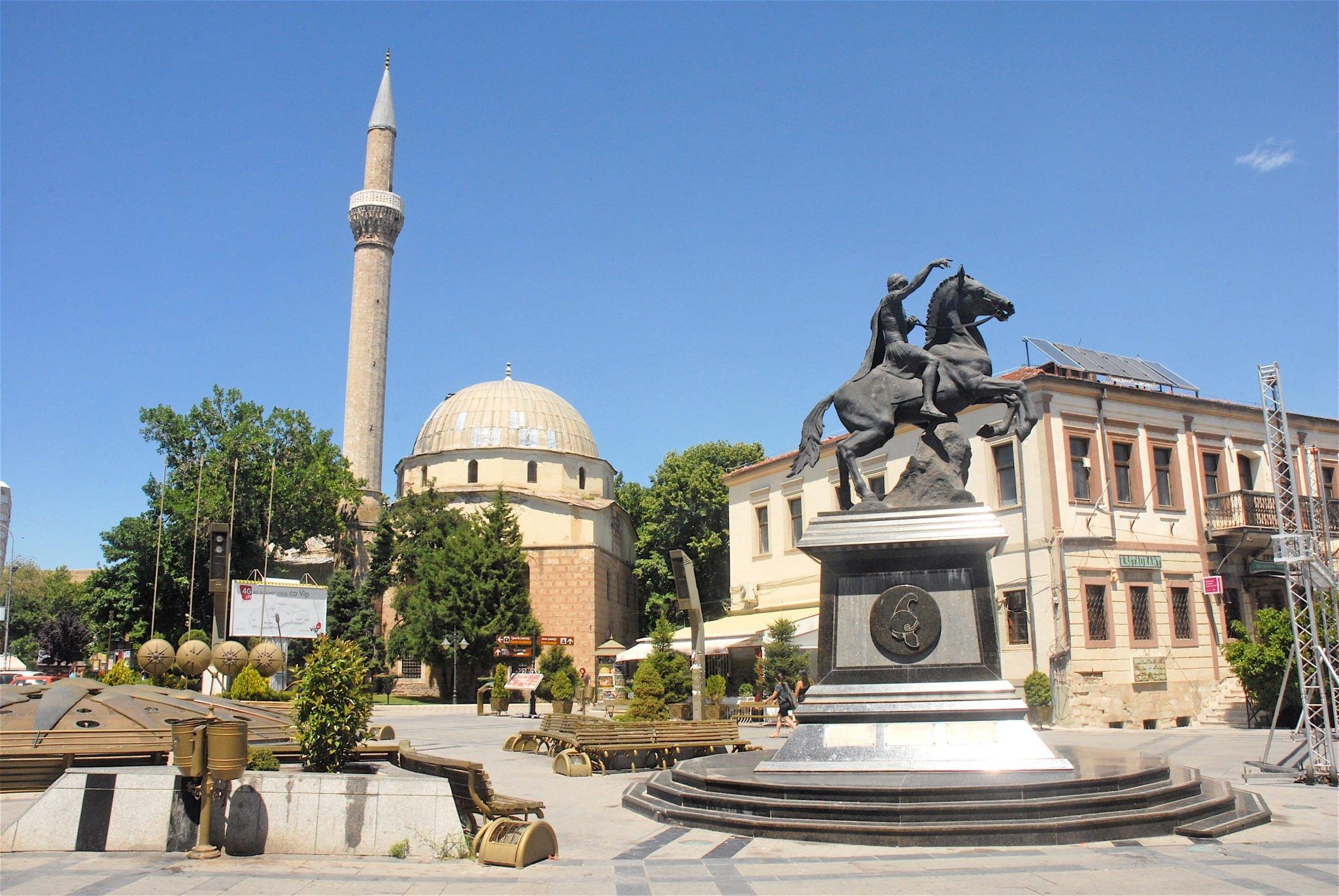 Le centre ville de Bitola - Macédoine