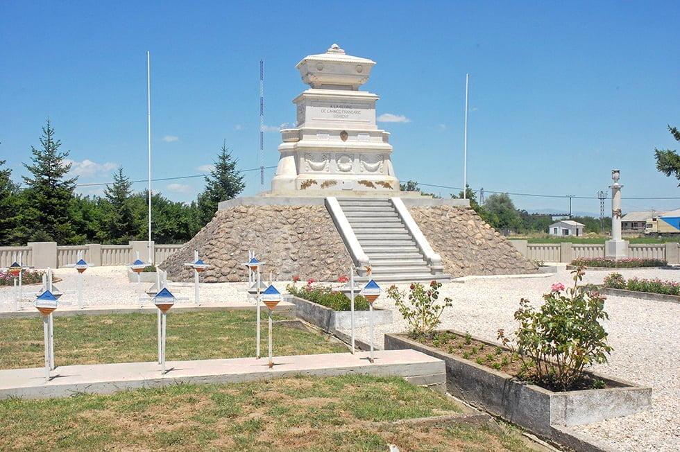 Le Cimetière militaire français de Bitola.