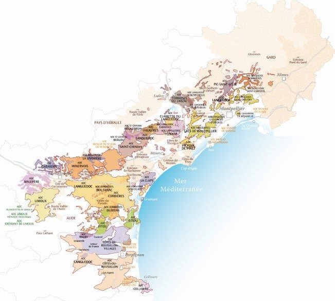 Dans les vins du Languedoc, les Pic Saint-Loup ont conquis leur appellation depuis 2017.