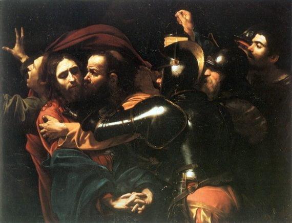 Caravage. L'Arrestation du Christ. National Gallery Dublin