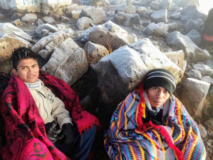 Deux jeunes guatémaltèques