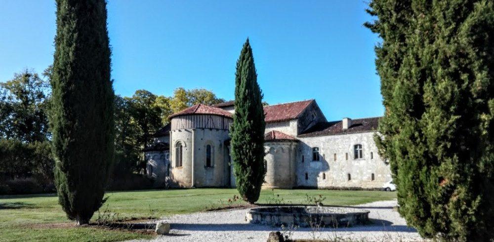 façade orientale sur jardins