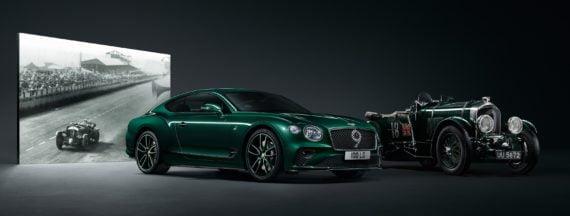 Pour la Continental GT N°9 de Bentley, le préparateur britannique Mulliner s'est inspirée de la célèbre Blower.