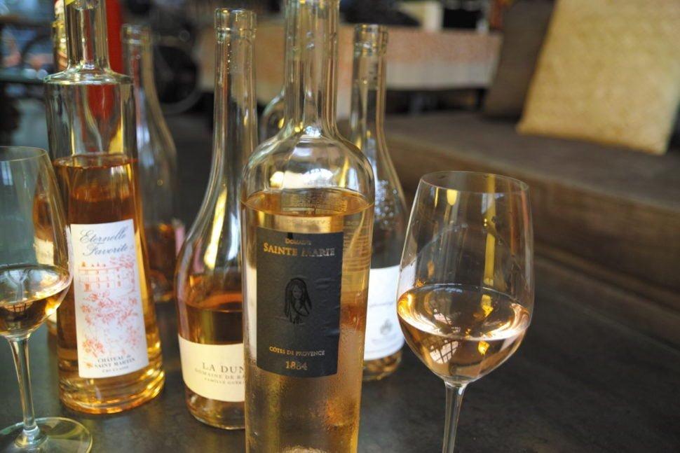 Sainte-Marie 1884 20018, finesse et élégance, pour ce rosé proche d'un blanc