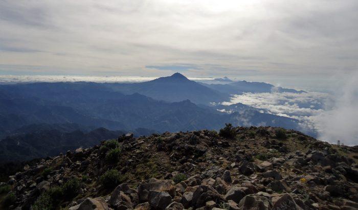 Du haut du Tacana