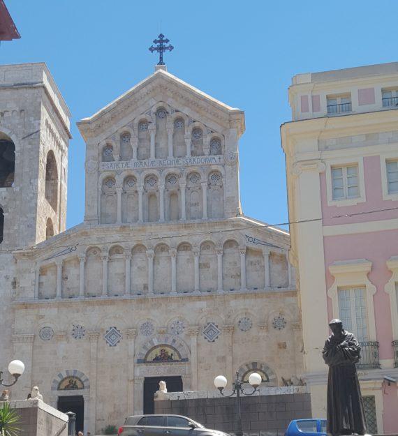 L'Eglise Santa Maria de Cagliari