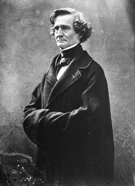 Portrait de Berlioz par Felix Nadar