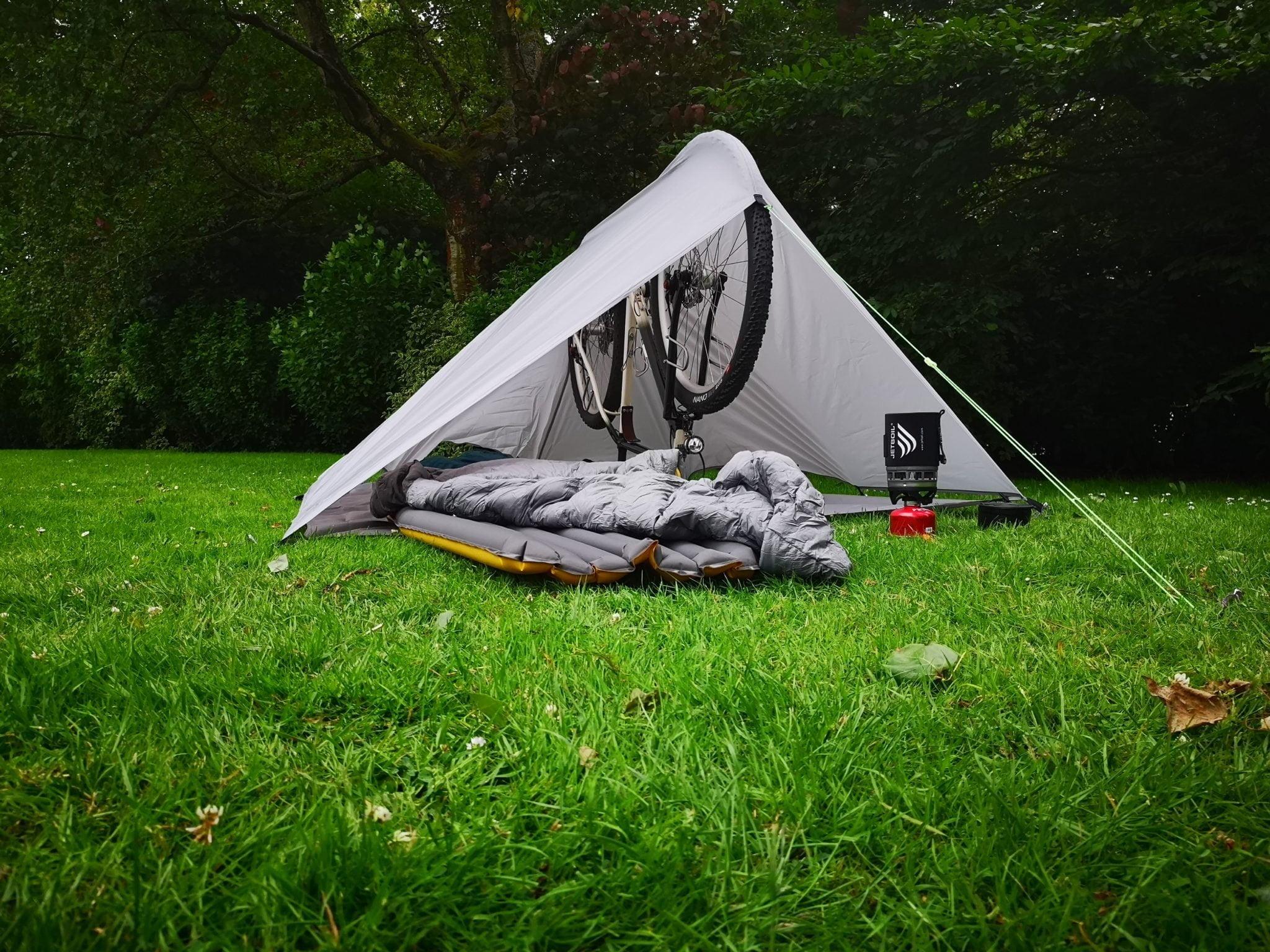 Le randonneur de l'atelier La Fraise, idéal pour le camping