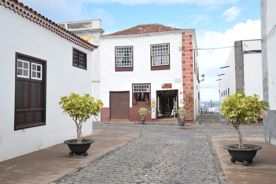 Une ruelle dans Garachico.