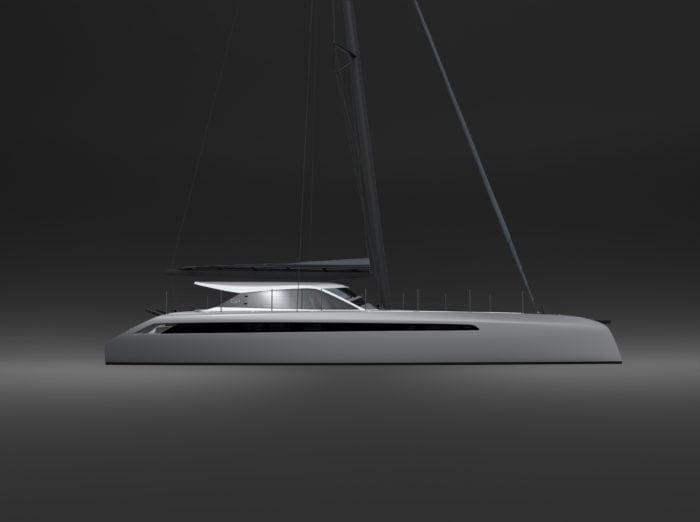 Le Gunboat 68 : le design et l'architecture ont été confiés au cabinet VPLP de Vannes