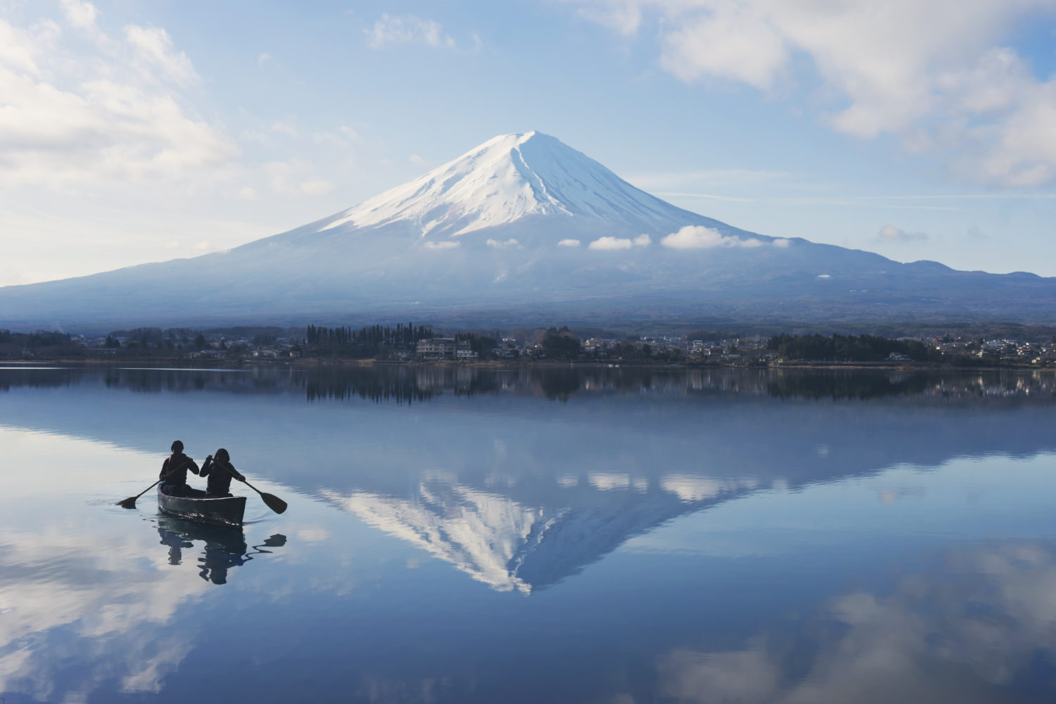 Hoshinoya Fuji Activity Morning Canoe