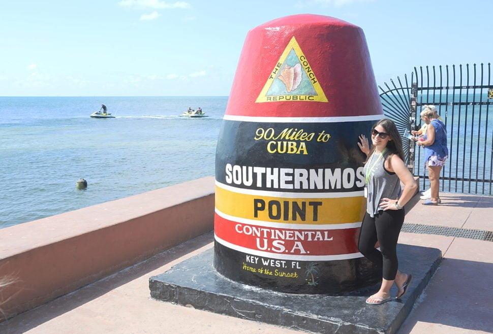 Le point le plus méridional des Etats-Unis se trouve à Key West