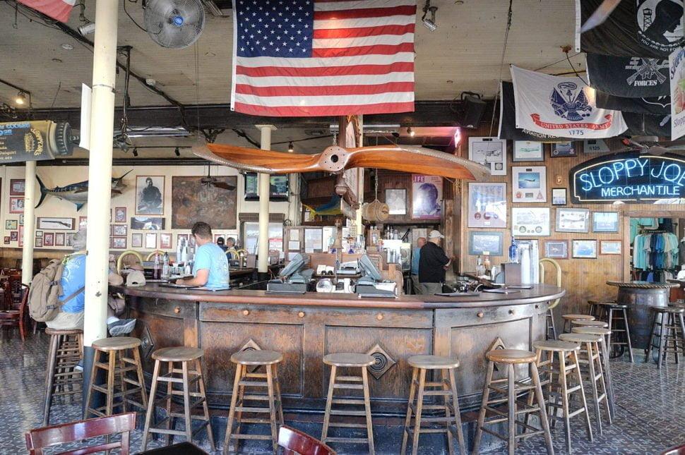 Le Sloppy Joe's (Key West), bar préféré d'Hemingway